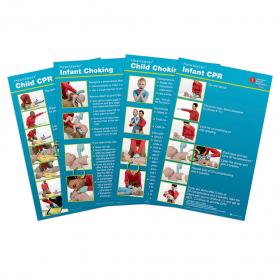 AHA Heartsaver® Child & Infant Poster - 8 Pack