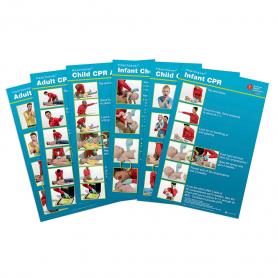 AHA Heartsaver® Poster - 12 Pack