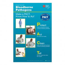 AHA Heartsaver® Bloodborne Pathogens Poster