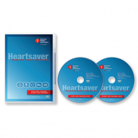 AHA Heartsaver® Pediatric First Aid CPR AED DVD Set