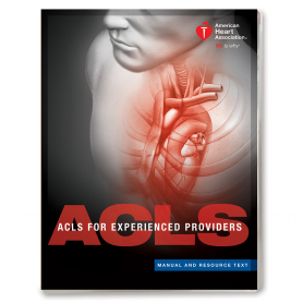 AHA ACLS EP Manual & Resource Text