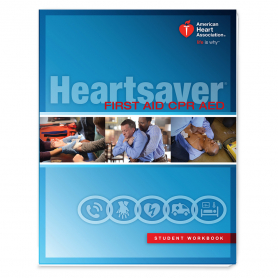 AHA Heartsaver® First Aid CPR AED Student Workbook - 6 Pack