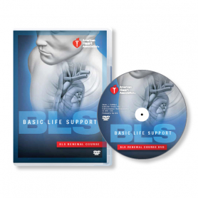 AHA BLS DVD Set with Renewal Course DVD