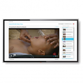 AHA Heartsaver® Pediatric First Aid CPR AED Course Video in Streaming Format