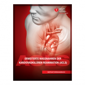 AHA ACLS Instructor Manual eBook - German