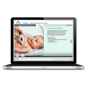 AHA Heartsaver® Pediatric First Aid CPR AED Online