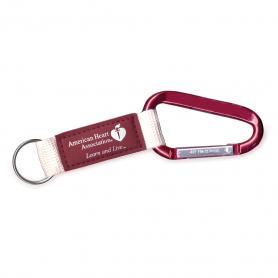AHA Carabiner Key Clip - Red