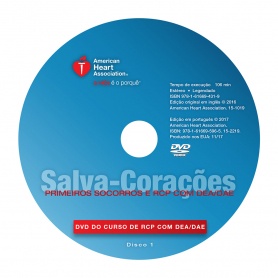 AHA Heartsaver® First Aid CPR AED DVD - Portuguese