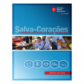 2015 AHA Heartsaver® First Aid CPR AED Student Workbook - Portuguese