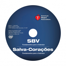 AHA BLS/Heartsaver® Instructor Essentials Course DVD - Portuguese