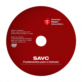 AHA ACLS Instructor Essentials Course DVD - Portuguese