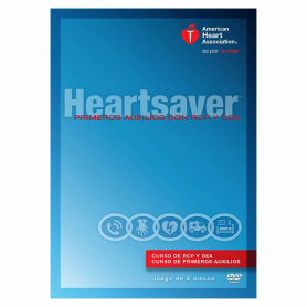 AHA Heartsaver® First Aid CPR AED DVD Set - Spanish