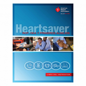 2015 AHA Heartsaver® First Aid CPR AED Instructor Manual eBook - Spanish
