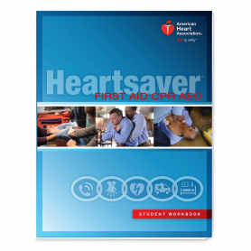 2015 AHA Heartsaver® First Aid CPR AED Student Workbook - IVE