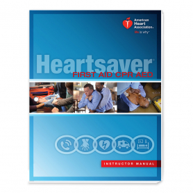 AHA Heartsaver® First Aid CPR AED Instructor Manual eBook - IVE