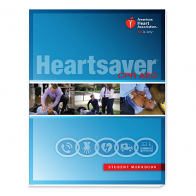 AHA Heartsaver® CPR AED Student Workbook - IVE