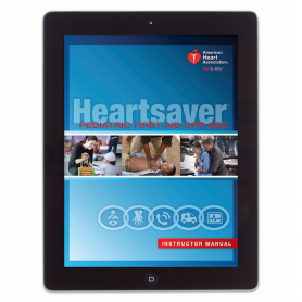 AHA Heartsaver® Pediatric First Aid CPR AED Instructor Manual eBook