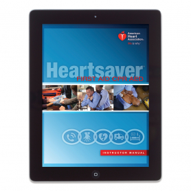 AHA Heartsaver® First Aid CPR AED Instructor Manual eBook
