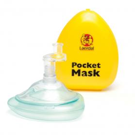 Laerdal® Pocket Mask in Hard Case - Yellow