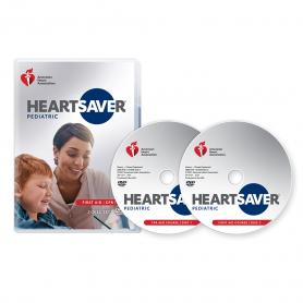 2020 AHA Heartsaver® Pediatric First Aid CPR AED DVD Set