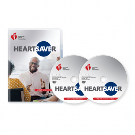 2020 AHA Heartsaver® First Aid CPR AED DVD Set