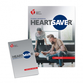 2020 AHA Heartsaver® First Aid Student Workbook