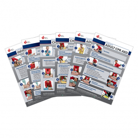 2020 AHA Heartsaver® Poster Pack - 12 Pack