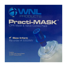 WorldPoint® Infant Practi-Mask® with Training Valve - 10 Pack