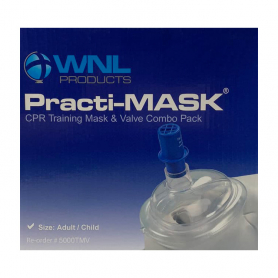 WNL Child/Adult Practi-Mask® with Training Valve - 10 Pack