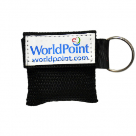 WorldPoint® CPR Keychain - Black