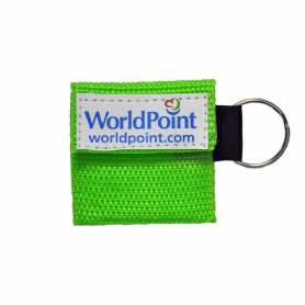 WorldPoint® CPR Keychain - Lime Green