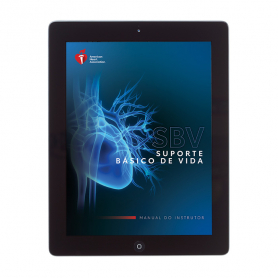2020 AHA BLS Instructor Manual eBook - Portuguese