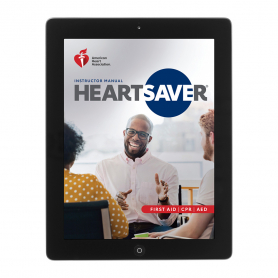 2020 AHA Heartsaver® First Aid CPR AED Instructor Manual eBook