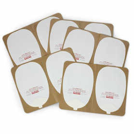 Nasco ElectroLast™ AED Trainer Skin Electrode Peel-Off Pads, Heartstream Style - 5 Pack