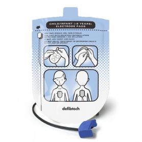 Defibtech Lifeline™ AED Trainer Pediatric Training Electrode Kit