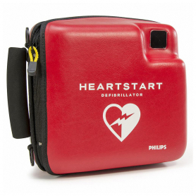 Philips HeartStart FR2/FR2+ Semi-Rigid Coated Case - Red