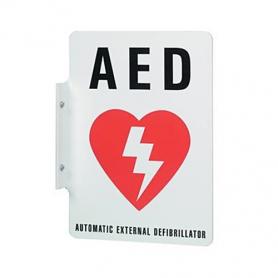 Philips Defibrillator Wall Sign