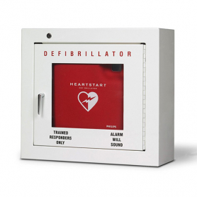 Philips AED Cabinet, Compact with Audible Alarm