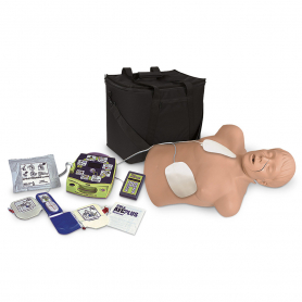 Simulaids Zoll® AED Trainer Package with Brad CPR Manikin