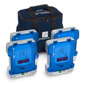 Prestan® Professional AED Trainer PLUS - 4 Pack