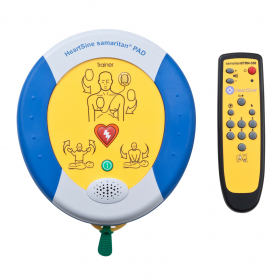 HeartSine® samaritan® PAD 350P Semi-Automatic Trainer with Remote