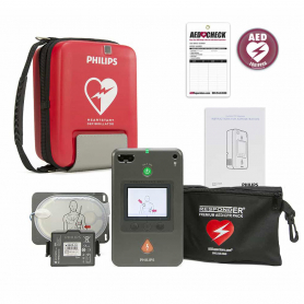 Philips HeartStart FR3 AED with ECG and Text Display - update
