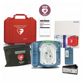 Philips HeartStart OnSite AED with Watertight Hard Carry Case
