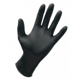 Dynarex® Nitrile Exam Gloves Powder Free - Black - Large