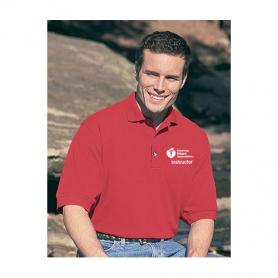 AHA Men's Polo Shirt - Red - Small