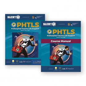 NAEMT® PHTLS: Prehospital Trauma Life Support Course Textbook & Course Manual, 9th Edition