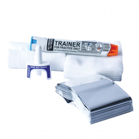 WorldPoint® First Aid Training Kit with Nasal Med Trainer