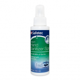Safetec® Hand Sanitizer - 4 oz. Spray