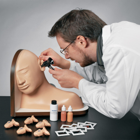 Life/form® Ear Examination Simulator and Basic Nursing Set