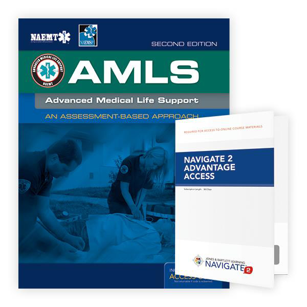 NAEMT® AMLS: Advanced Medical Life Support Textbook, 2nd Edition and  Advantage Access WorldPoint®